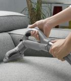 Couch vacuuming
