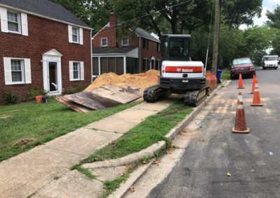 Fixing-sewer-line