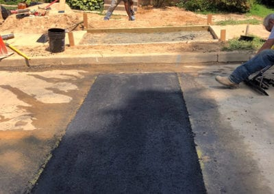 Street Sewer Line Finished